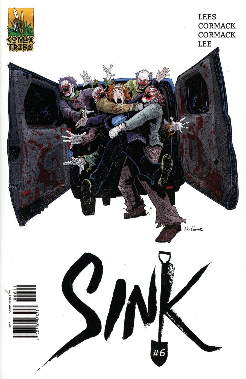 Sink #6 Cover A Alex Cormack