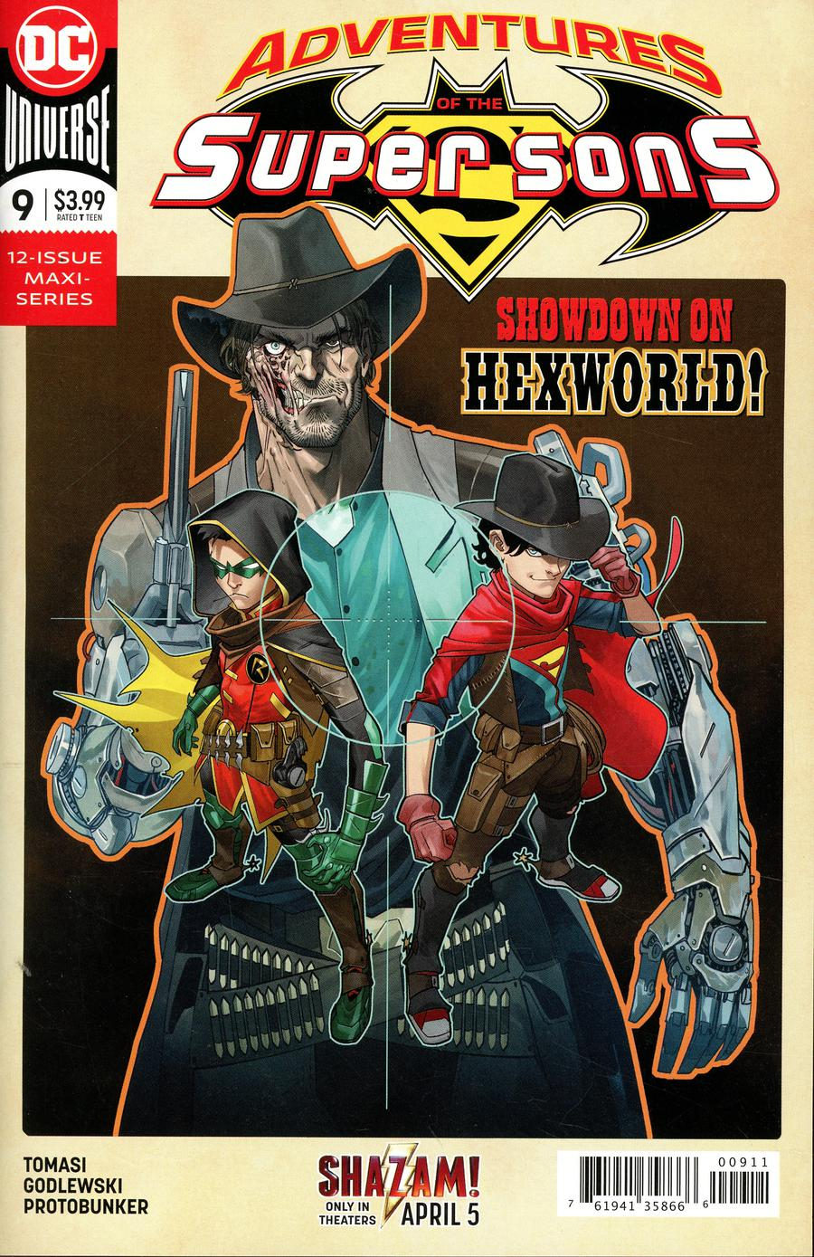 Adventures Of The Super Sons #9