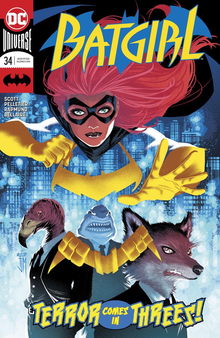 Batgirl Vol 5 #34 Cover A Regular Francis Manapul Cover