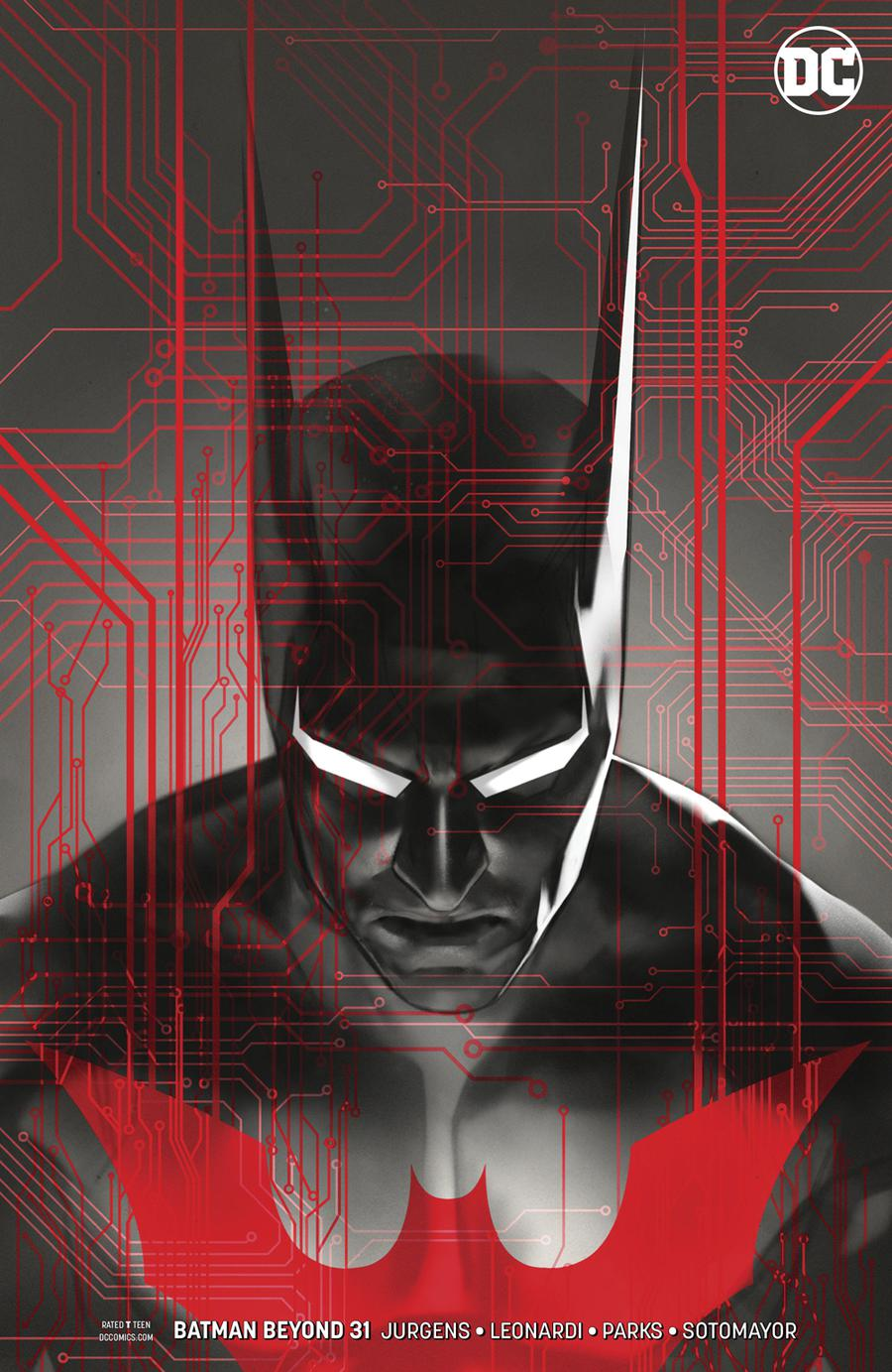 Batman Beyond Vol 6 #31 Cover B Variant Ben Oliver Cover
