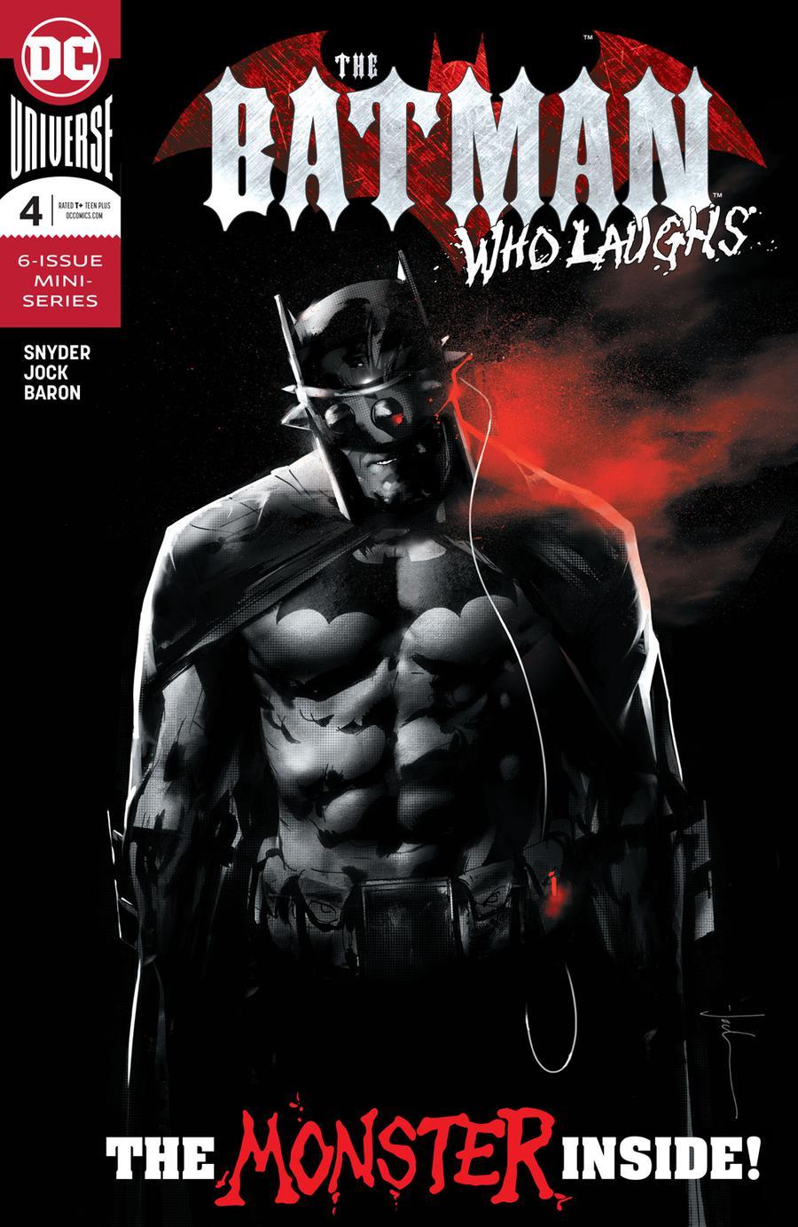 Batman Who Laughs #4 Cover A Regular Jock Cover