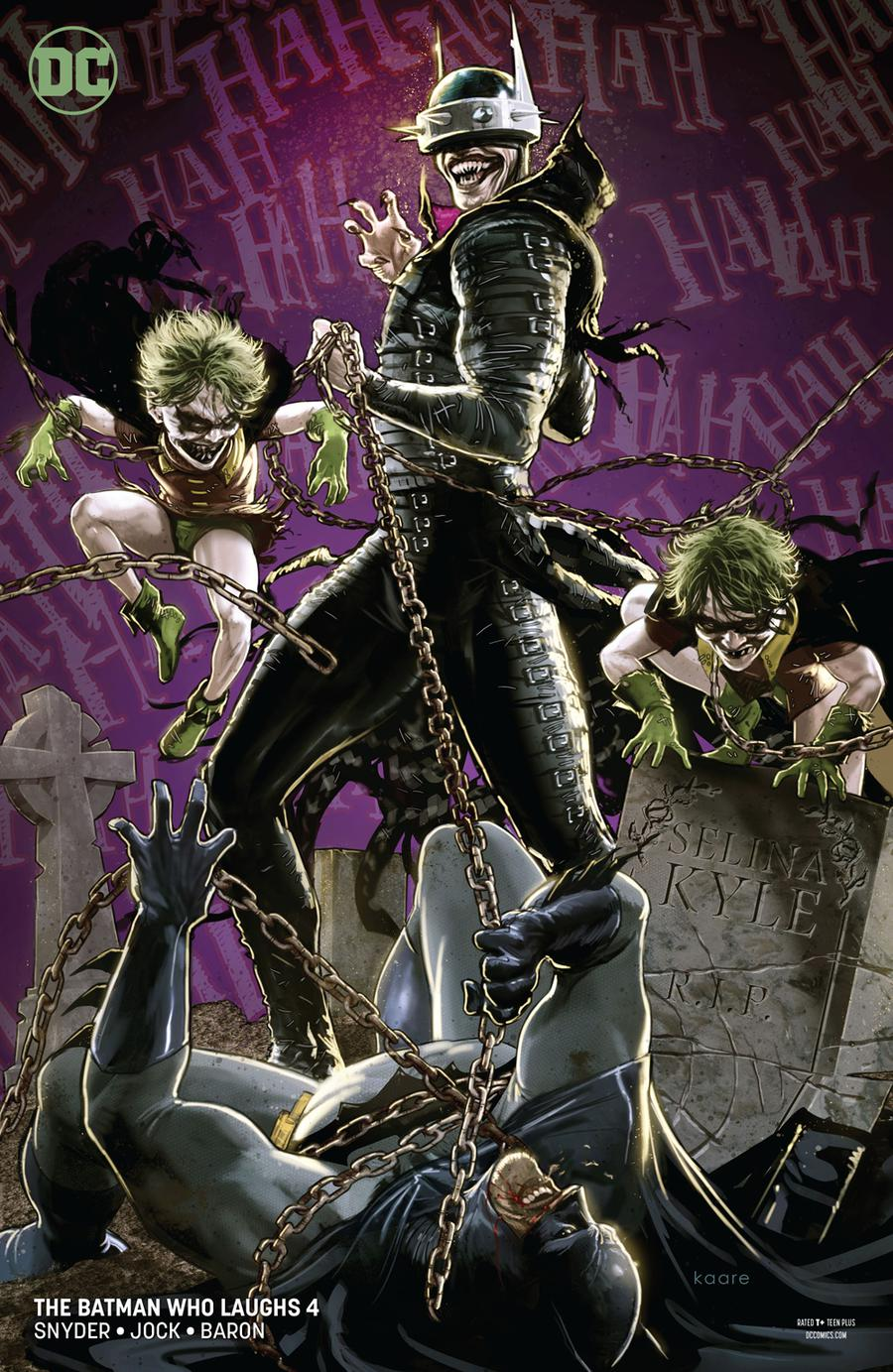 Batman Who Laughs #4 Cover B Variant Kaare Andrews Cover