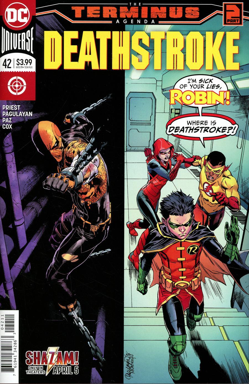 Deathstroke Vol 4 #42 Cover A Regular Carlo Pagulayan & Jason Paz Cover (Terminus Agenda Part 2)
