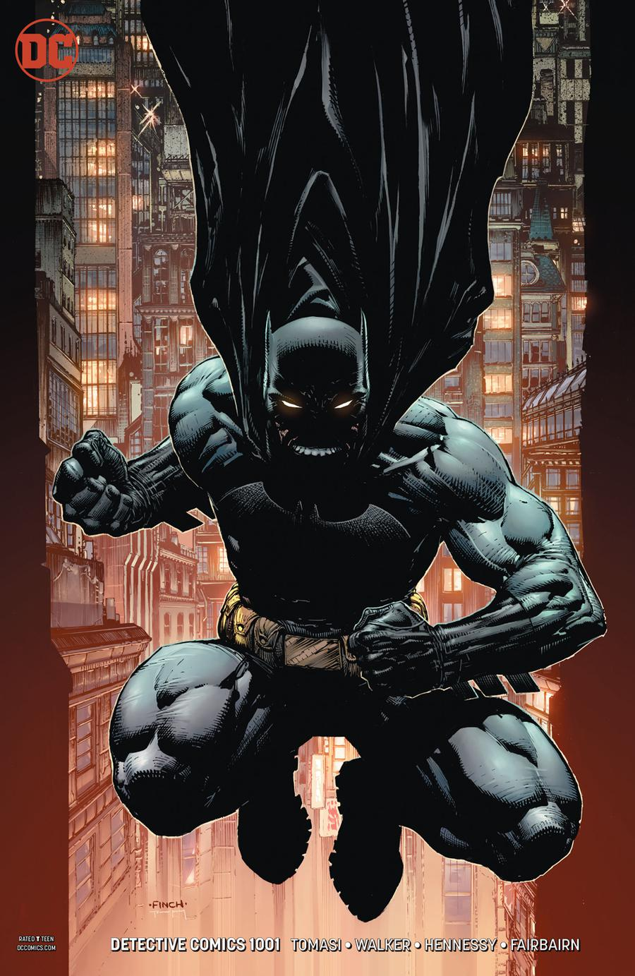 Detective Comics Vol 2 #1001 Cover B Variant David Finch Cover