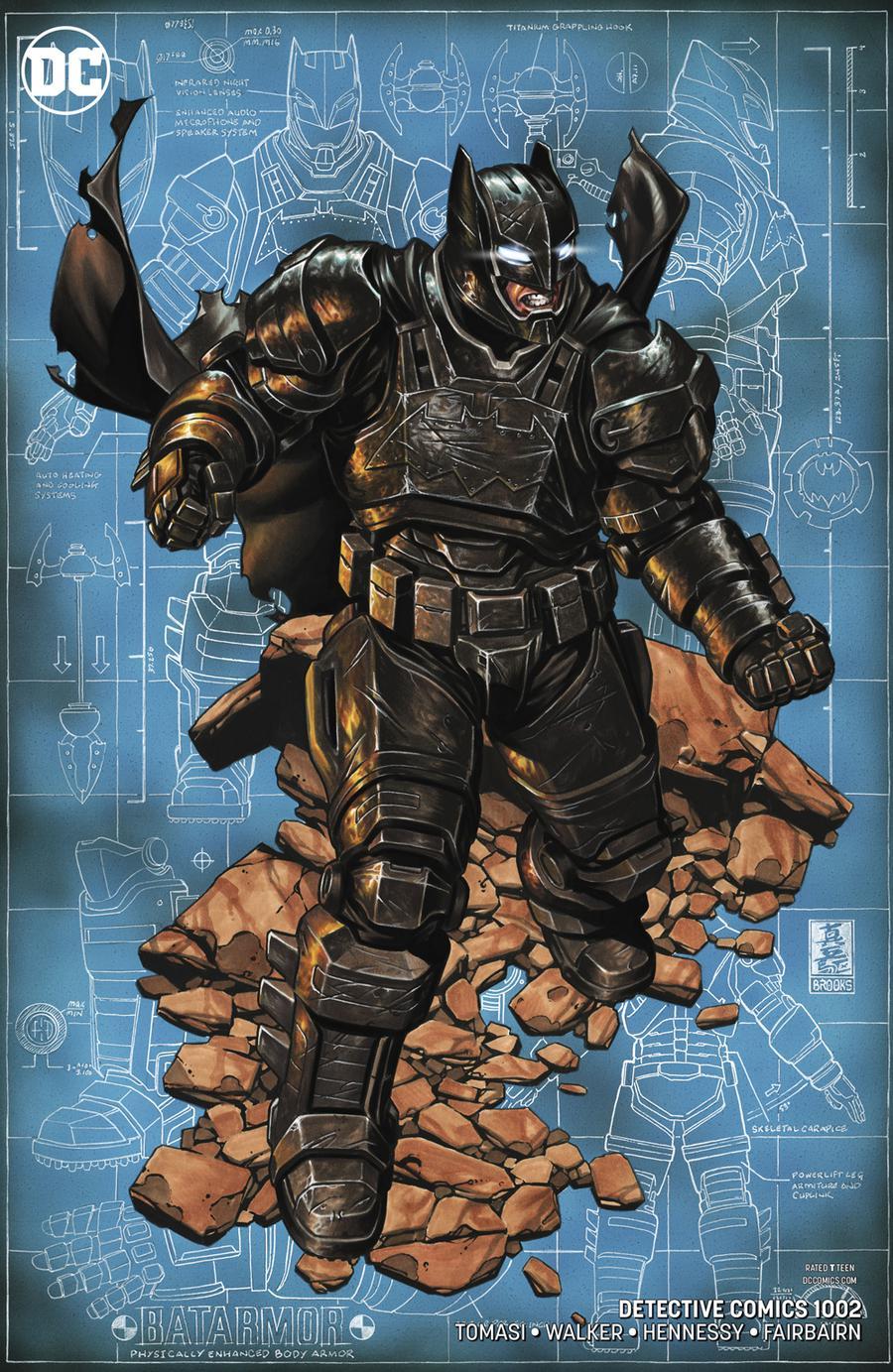 Detective Comics Vol 2 #1002 Cover B Variant Mark Brooks Cover