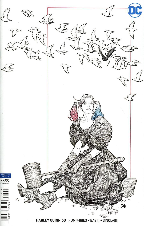 Harley Quinn Vol 3 #60 Cover B Variant Frank Cho Cover