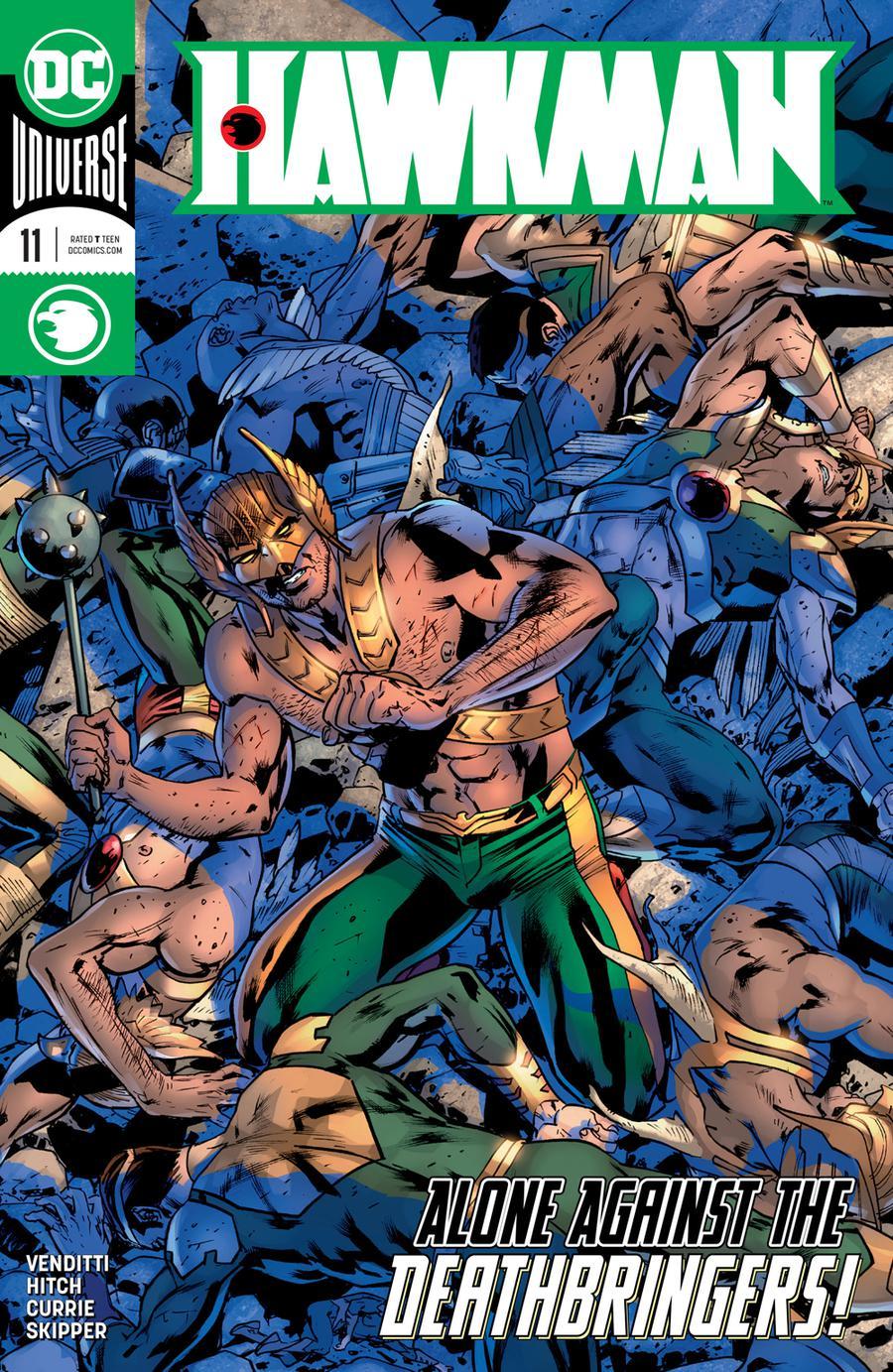 Hawkman Vol 5 #11 Cover A Regular Bryan Hitch Cover
