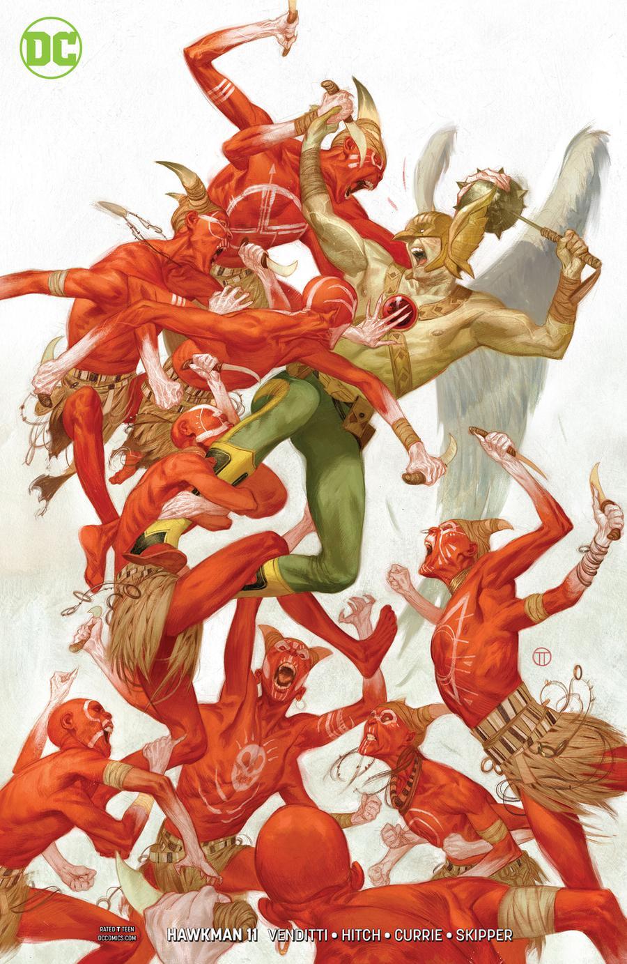 Hawkman Vol 5 #11 Cover B Variant Julian Totino Tedesco Cover