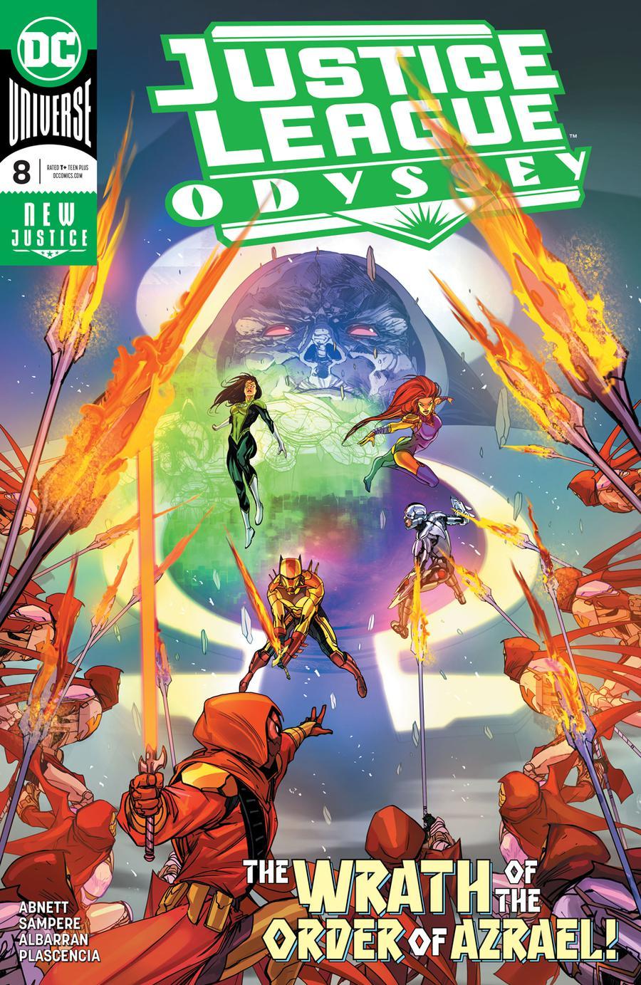 Justice League Odyssey #8 Cover A Regular Carmine Di Giandomenico Cover