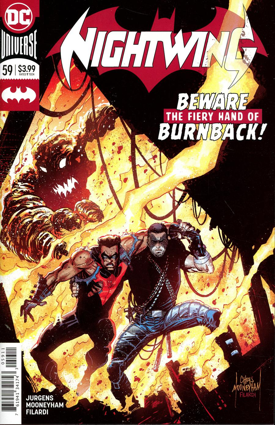 Nightwing Vol 4 #59 Cover A Regular Chris Mooneyham Cover