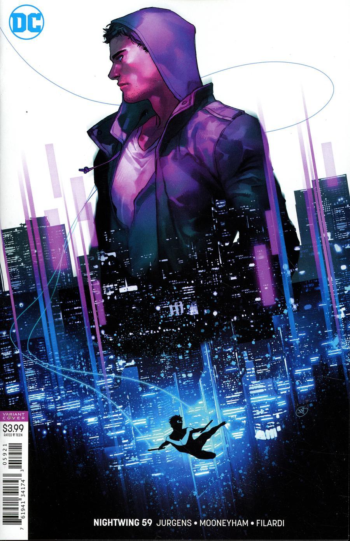 Nightwing Vol 4 #59 Cover B Variant Yasmine Putri Cover