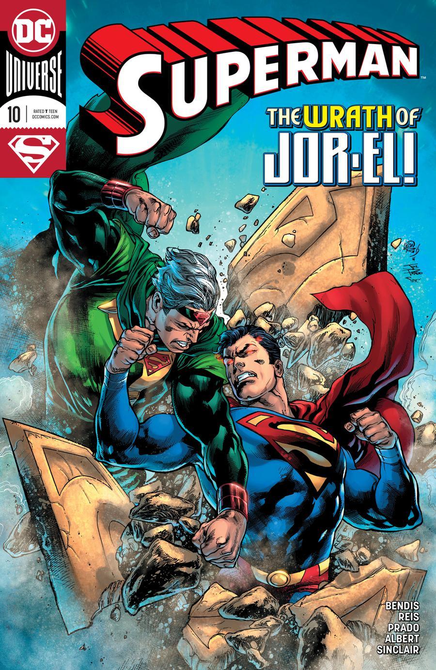 Superman Vol 6 #10 Cover A Regular Ivan Reis & Joe Prado Cover