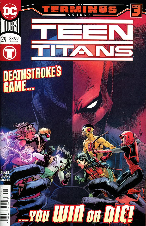 Teen Titans Vol 6 #29 Cover A Regular Carlo Pagulayan