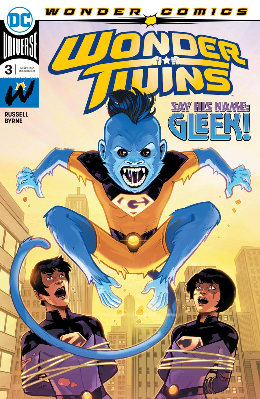 Wonder Twins #3 Cover A Regular Stephen Byrne Cover