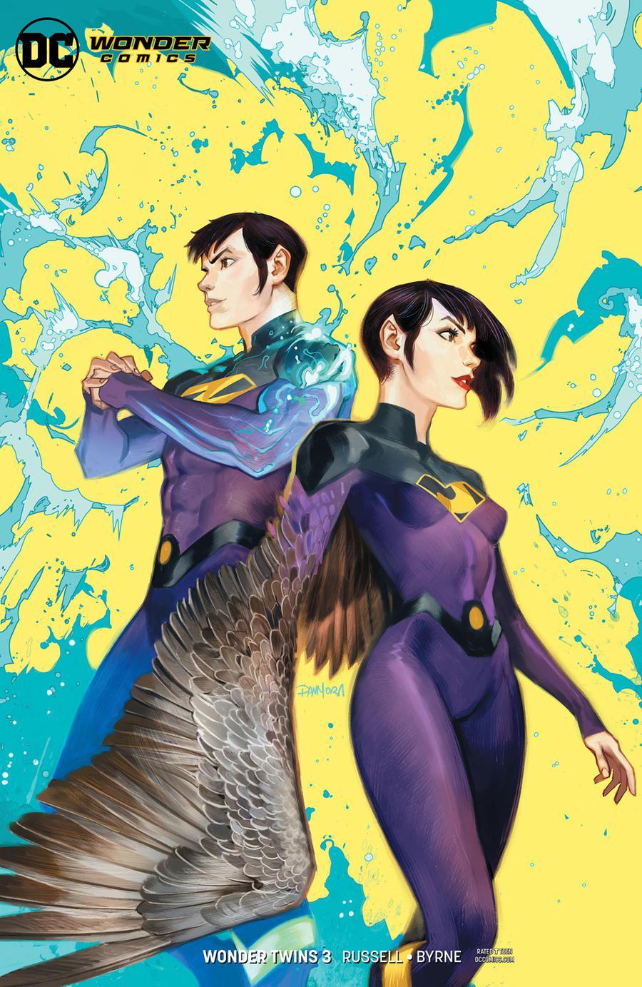 Wonder Twins #3 Cover B Variant Dan Mora Cover