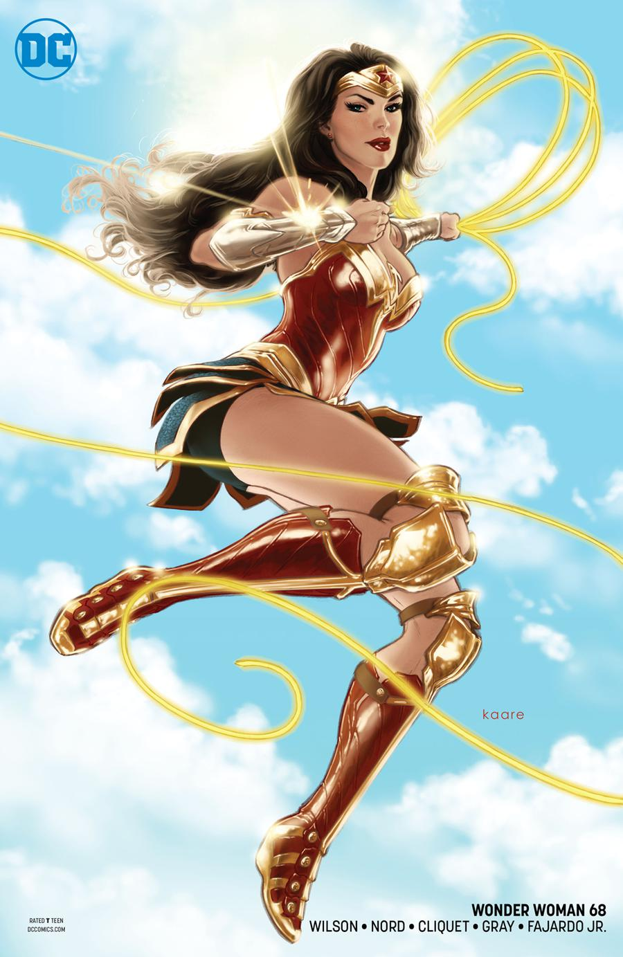 Wonder Woman Vol 5 #68 Cover B Variant Kaare Andrews Cover