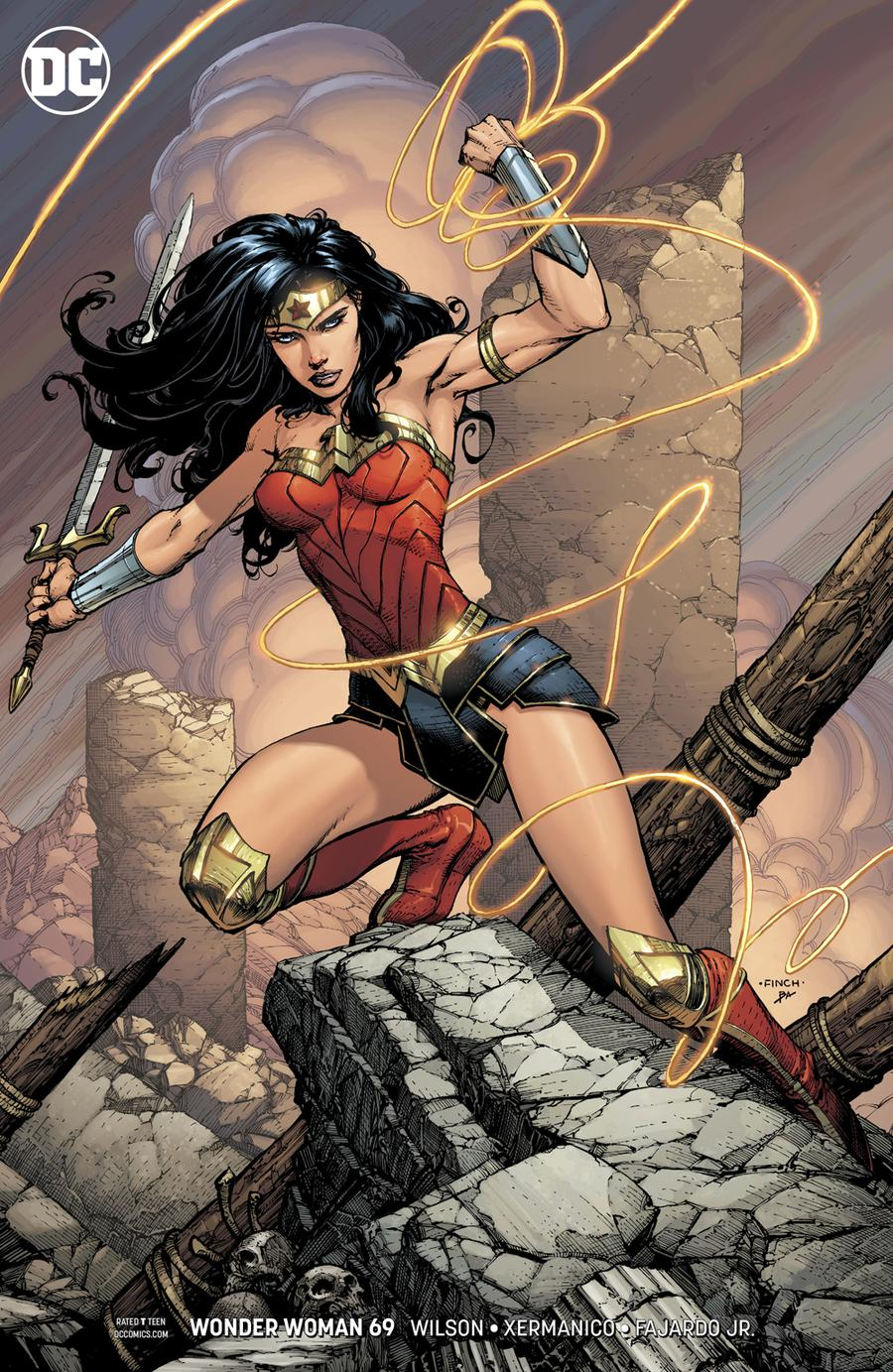 Wonder Woman Vol 5 #69 Cover B Variant David Finch Cover