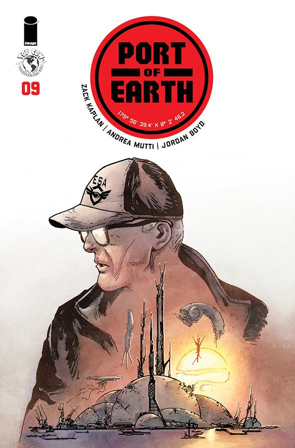 Port Of Earth #9 Cover A Regular Andrea Mutti Cover