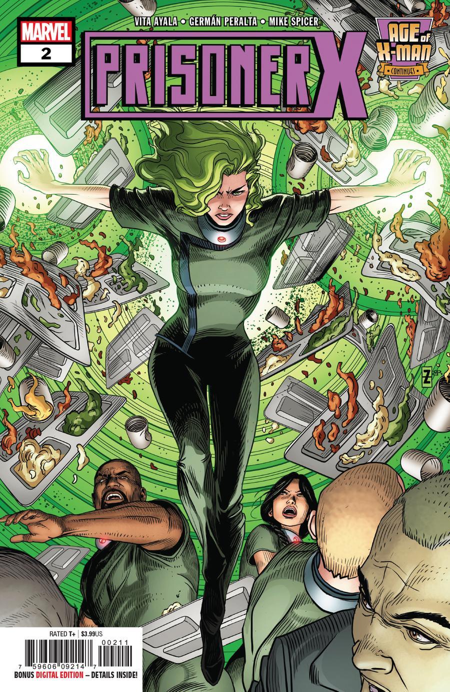 Age Of X-Man Prisoner X #2 Cover A Regular Patrick Zircher Cover