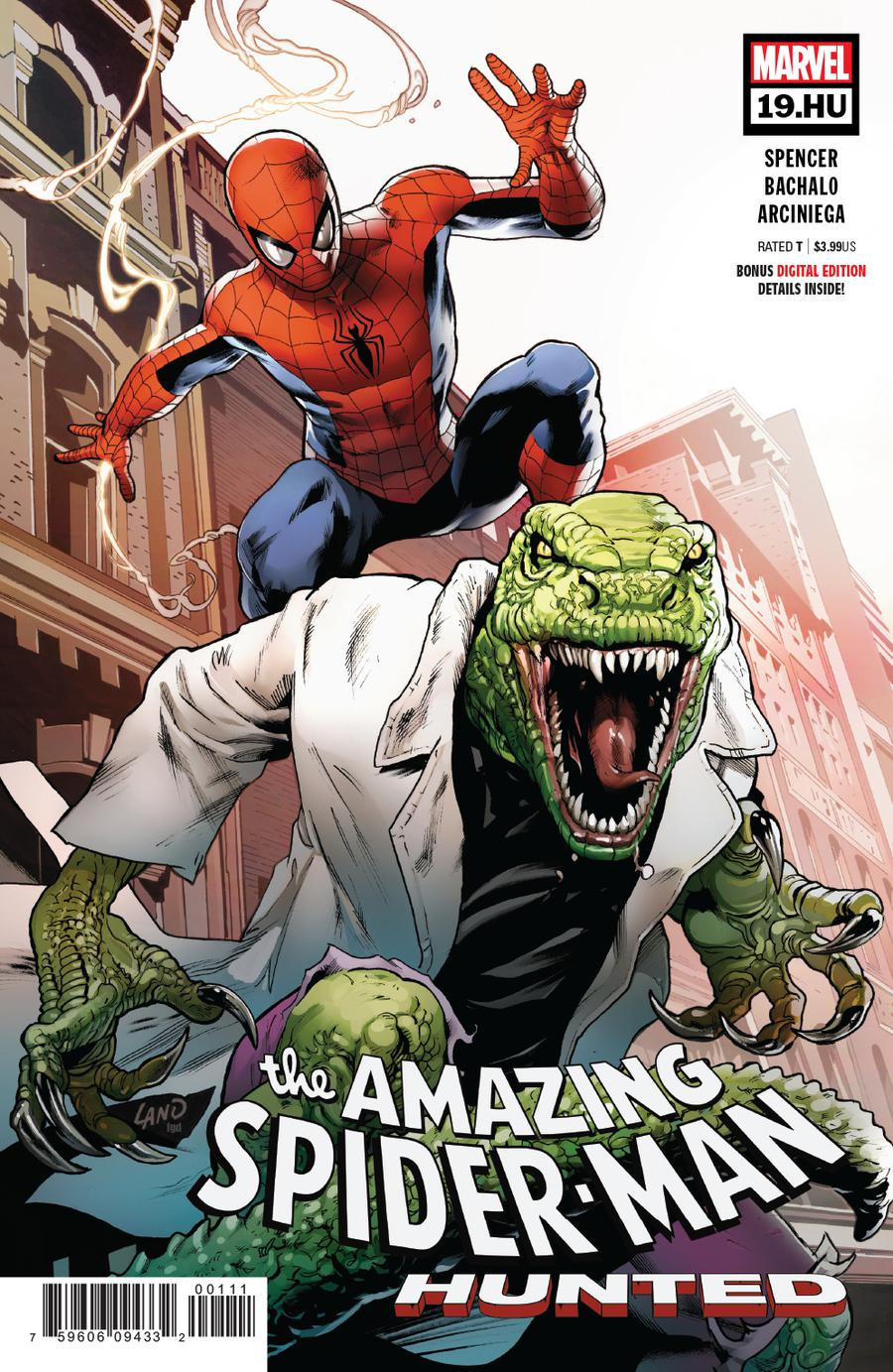 Amazing Spider-Man Vol 5 #19 HU Cover A 1st Ptg