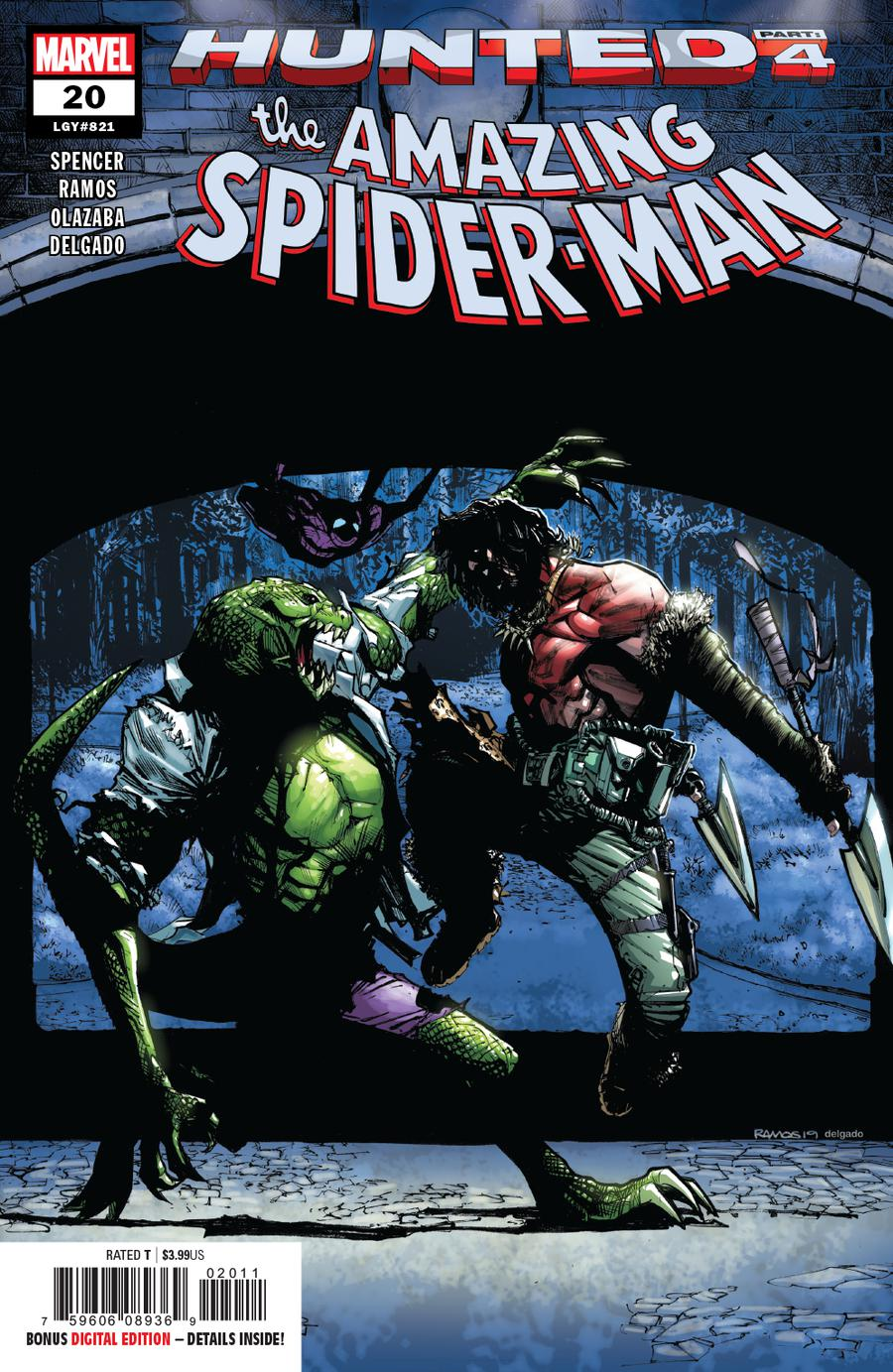 Amazing Spider-Man Vol 5 #20 Cover A Regular Humberto Ramos Cover
