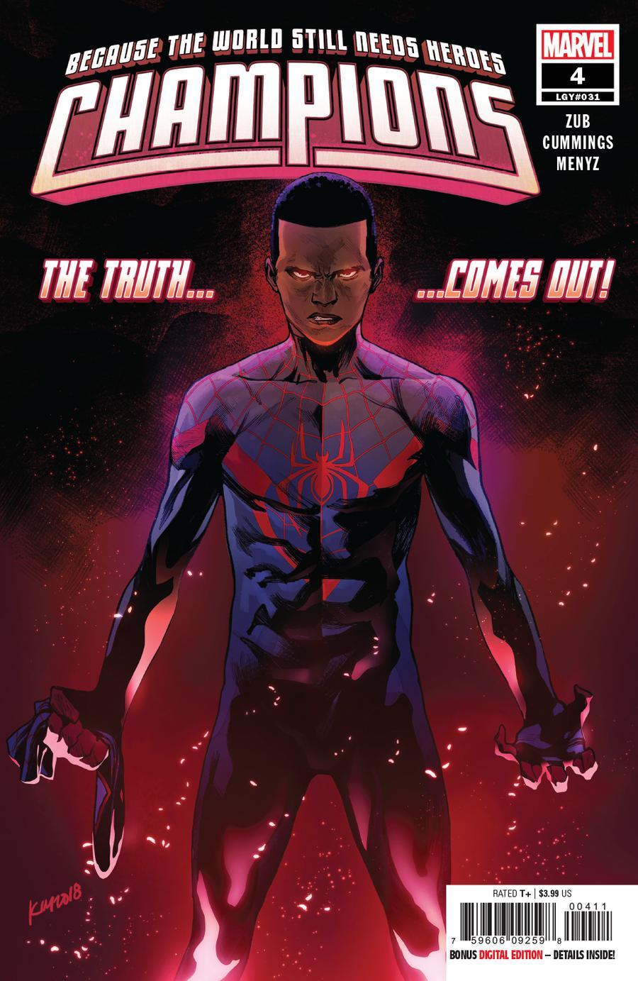 Champions (Marvel) Vol 3 #4 Cover A Regular Kim Jacinto Cover