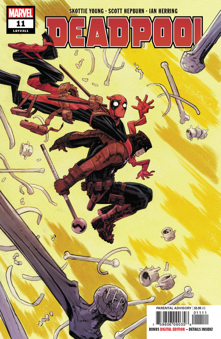 Deadpool Vol 6 #11 Cover A Regular Scott Hepburn Cover