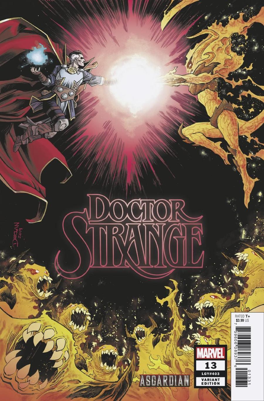 Doctor Strange Vol 5 #13 Cover B Variant Declan Shalvey Asgardian Cover