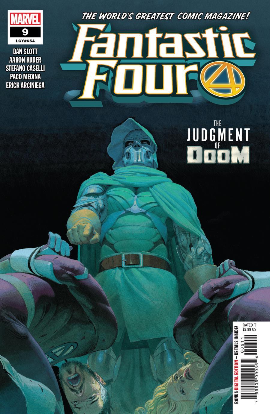 Fantastic Four Vol 6 #9 Cover A Regular Esad Ribic Cover