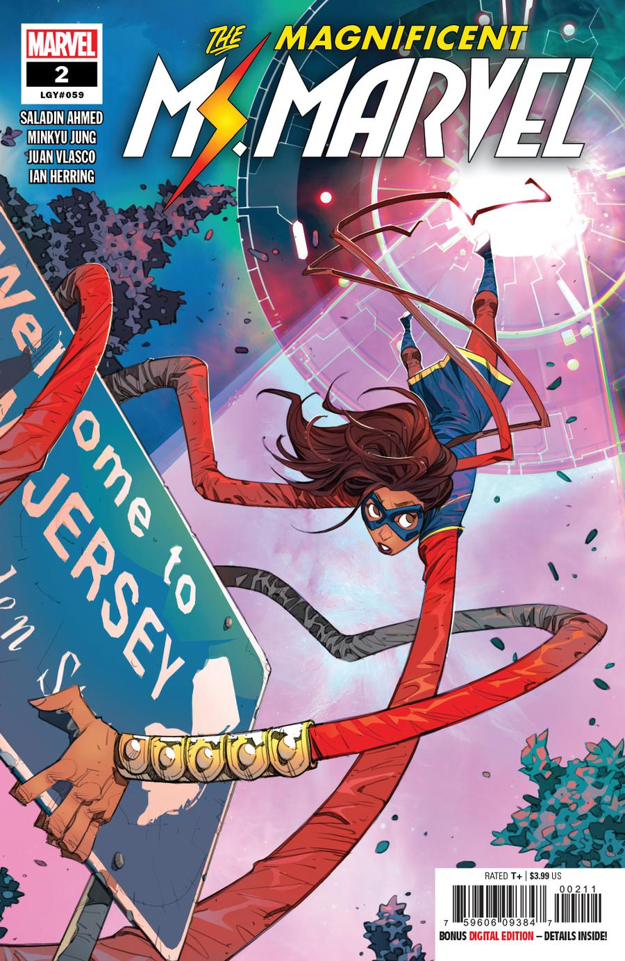 Magnificent Ms Marvel #2 Cover A Regular Eduard Petrovich Cover