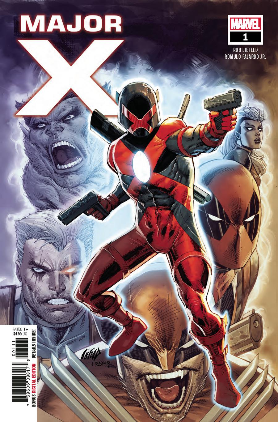 Major X #1 Cover A 1st Ptg Regular Rob Liefeld Cover