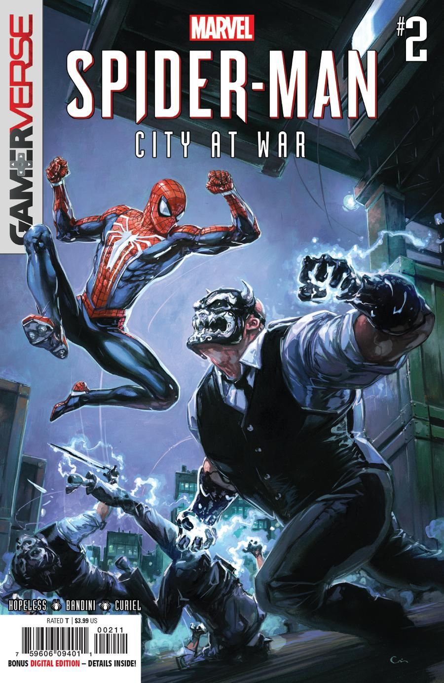 Marvels Spider-Man City At War #2 Cover A Regular Clayton Crain Cover