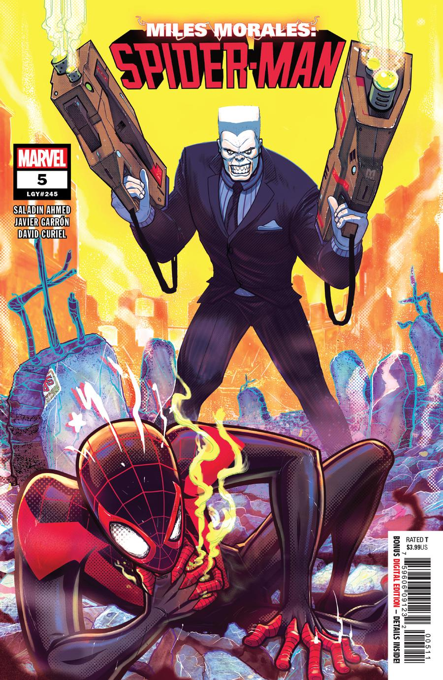 Miles Morales Spider-Man #5 Cover A 1st Ptg