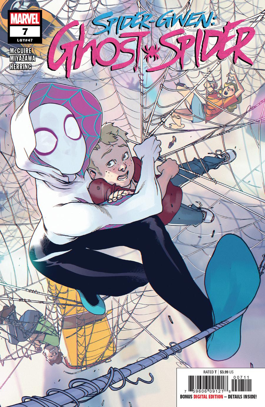 Spider-Gwen Ghost Spider #7 Cover A Regular Bengal Cover
