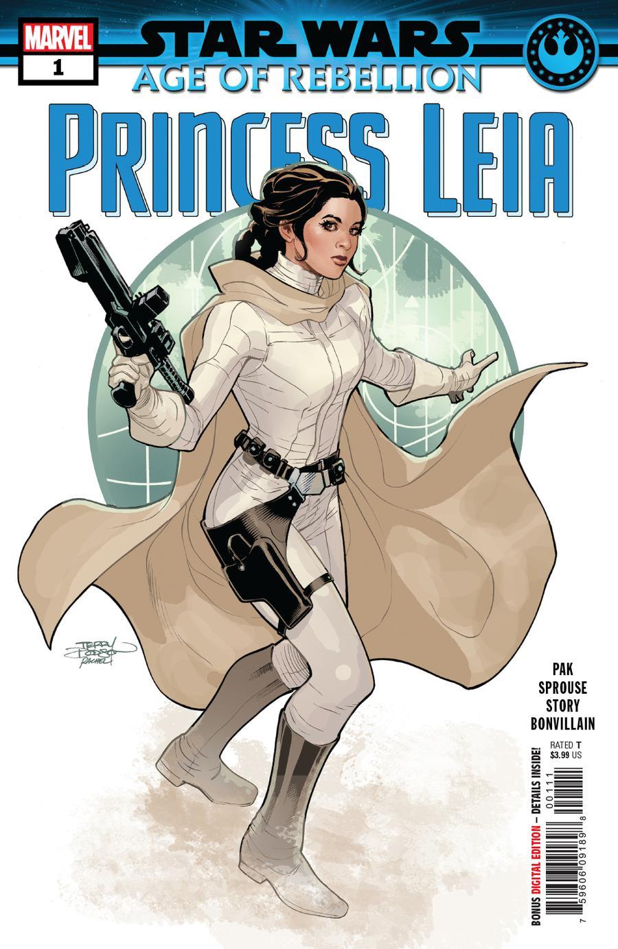 Star Wars Age Of Rebellion Princess Leia #1 Cover A Regular Terry Dodson & Rachel Dodson Cover
