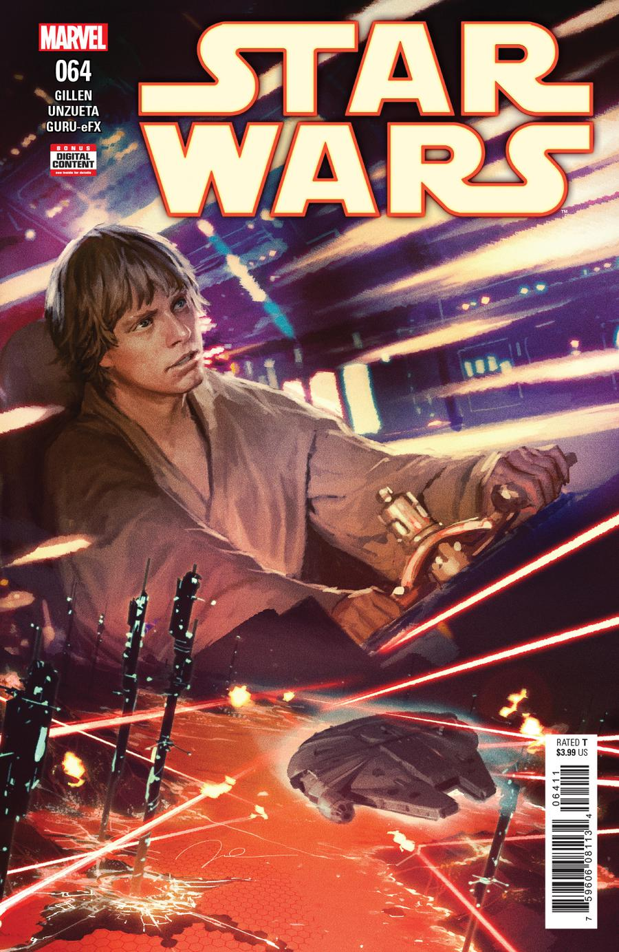 Star Wars Vol 4 #64 Cover A Regular Gerald Parel Cover