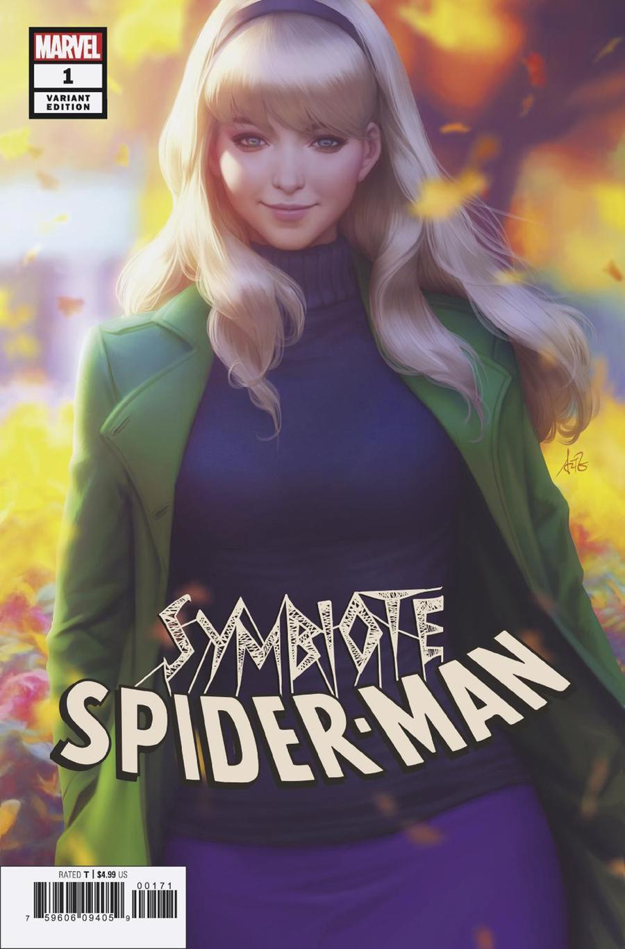Symbiote Spider-Man #1 Cover C Variant Stanley Artgerm Lau Cover