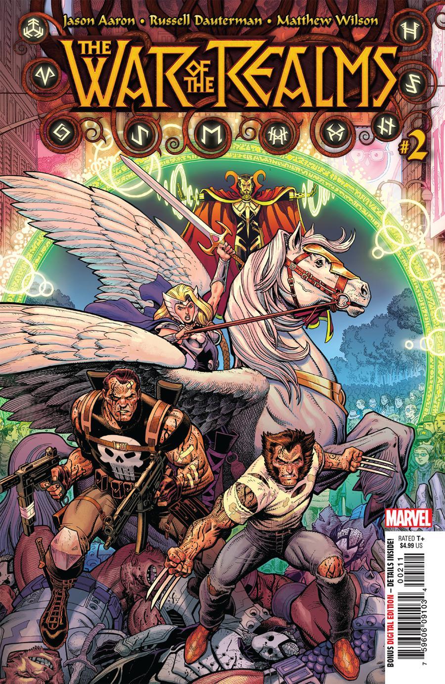 War Of The Realms #2 Cover A 1st Ptg Regular Arthur Adams & Matthew Wilson Cover