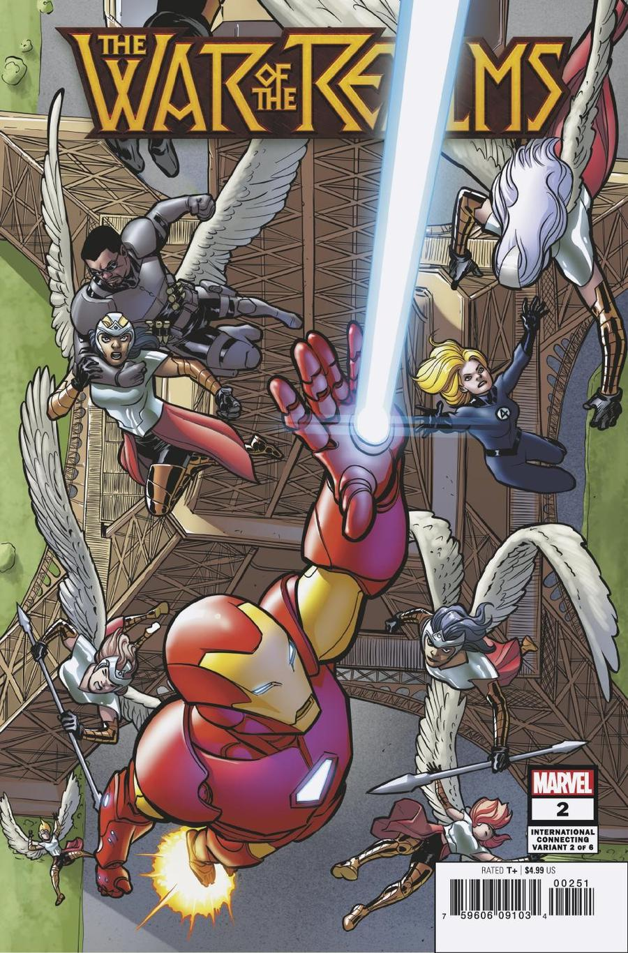 War Of The Realms #2 Cover C Variant David Lopez International Cover