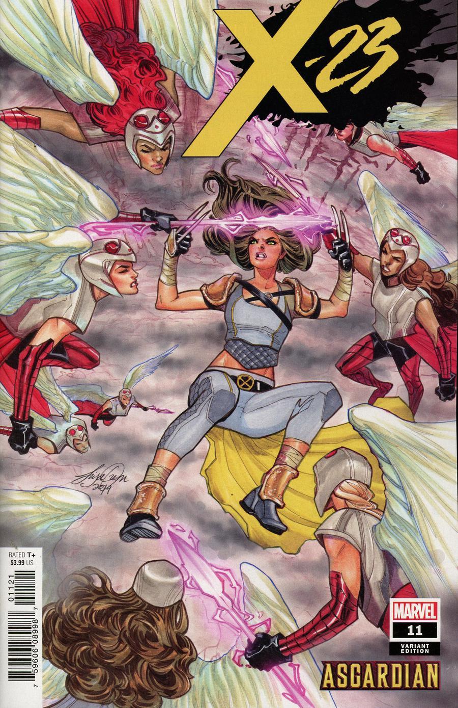 X-23 Vol 3 #11 Cover B Variant Siya Oum Asgardian Cover