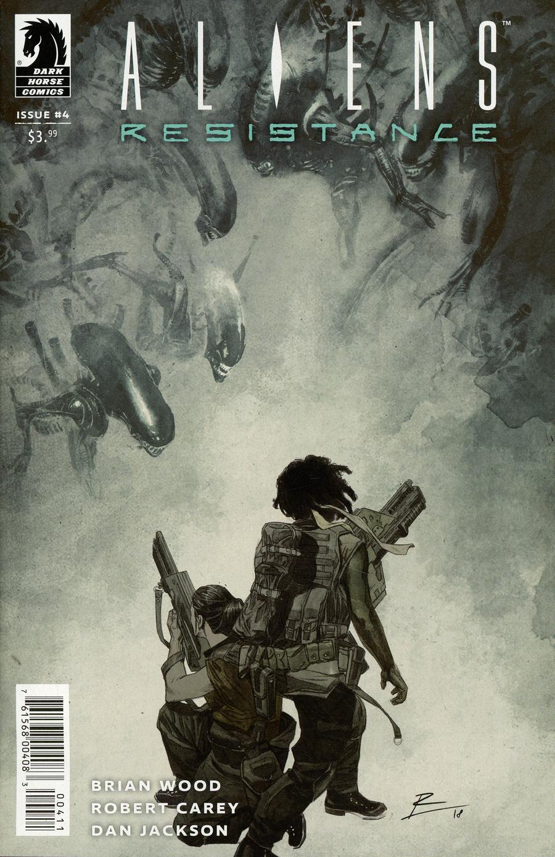 Aliens Resistance #4 Cover A Regular Roberto De La Torre Cover