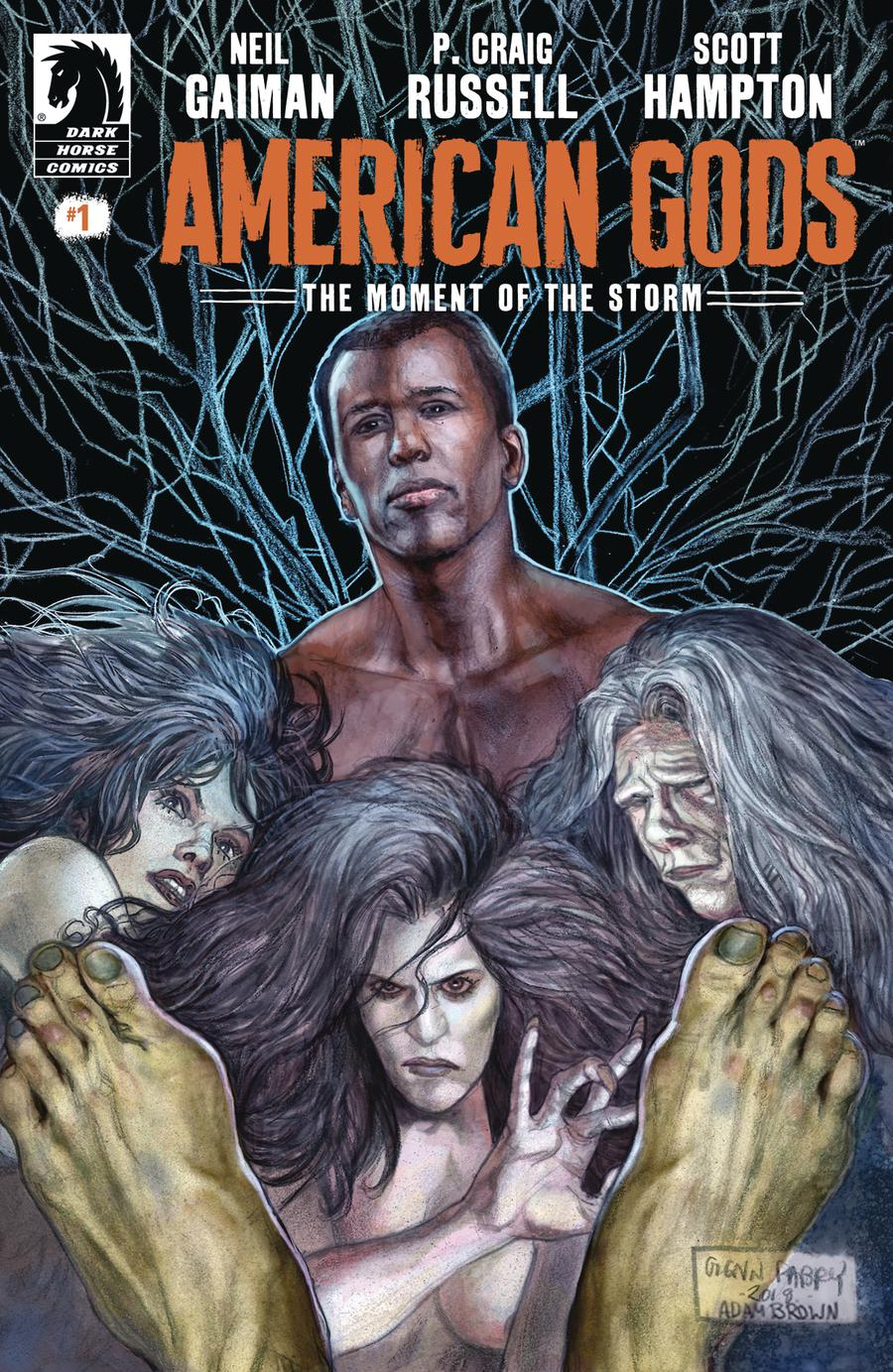 American Gods Moment Of The Storm #1 Cover A Regular Glenn Fabry Cover