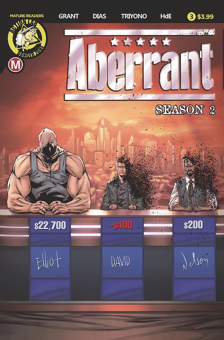 Aberrant Season 2 #3 Cover A Regular Leon Dias Cover