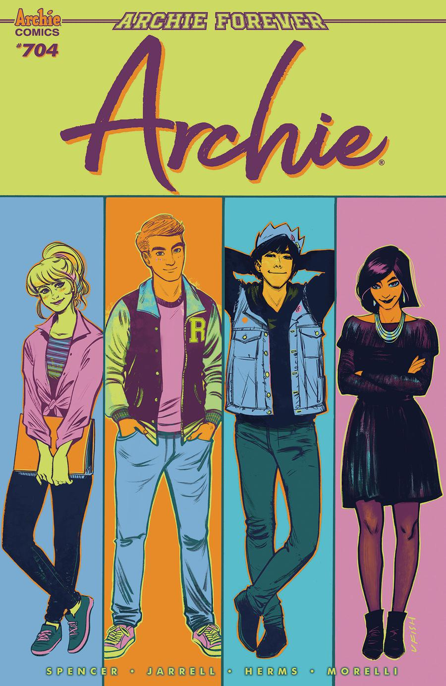 Archie Vol 2 #704 Cover A Regular Veronica Fish Cover