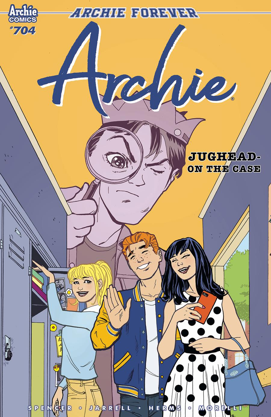 Archie Vol 2 #704 Cover B Variant Sandy Jarrell Cover
