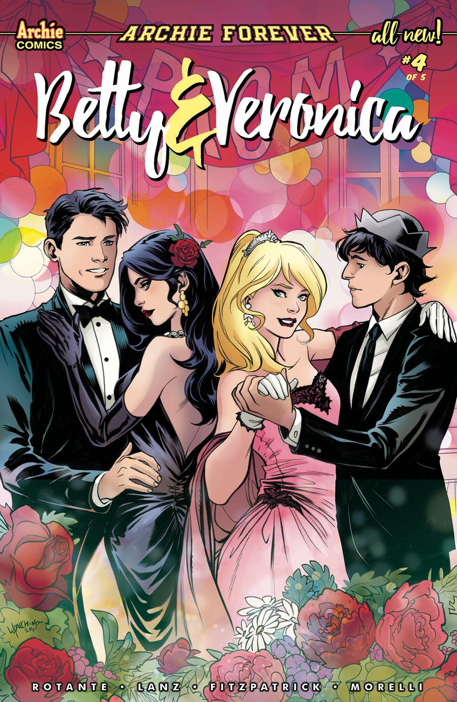 Betty & Veronica Vol 3 #4 Cover C Variant Emanuela Lupacchino Cover