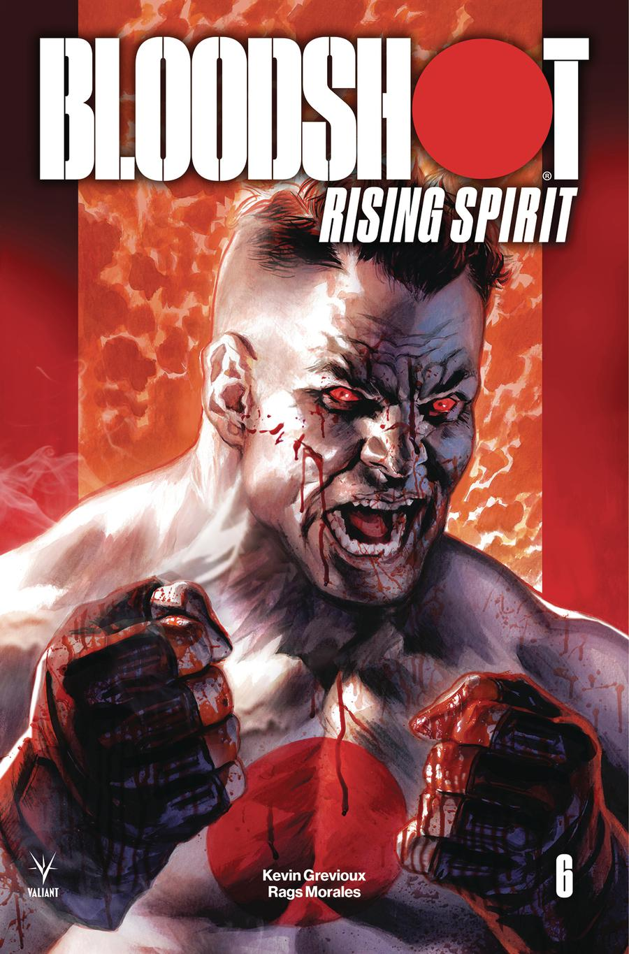 Bloodshot Rising Spirit #6 Cover A Regular Felipe Massafera Cover