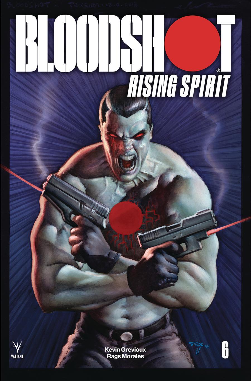 Bloodshot Rising Spirit #6 Cover B Variant Mark Texeira Cover