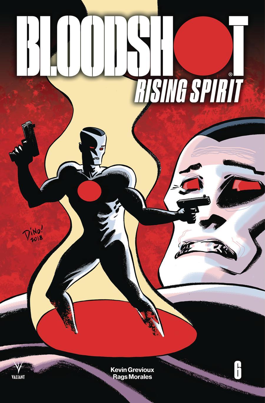 Bloodshot Rising Spirit #6 Cover C Variant Dean Haspiel Cover