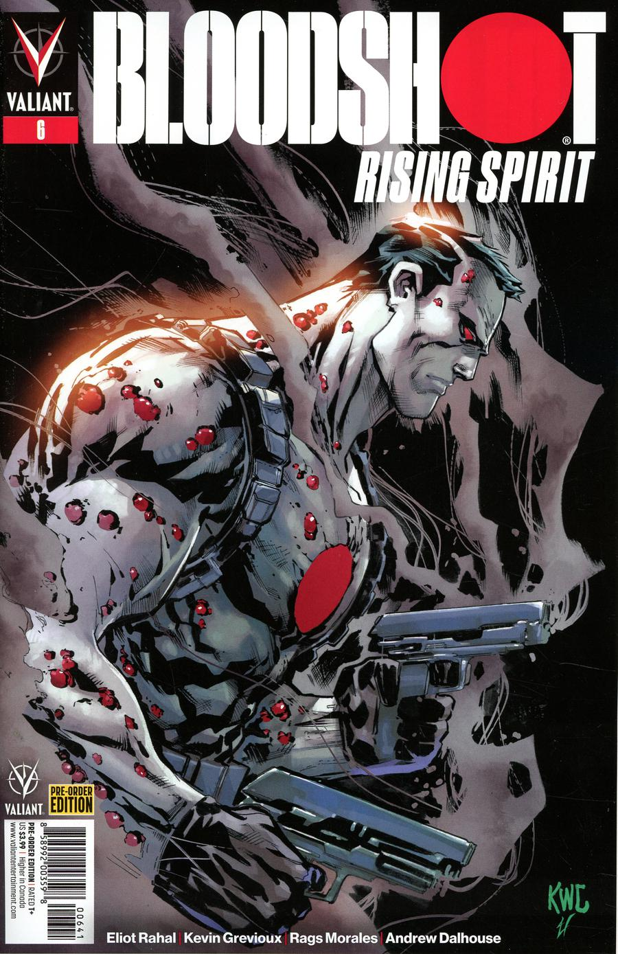 Bloodshot Rising Spirit #6 Cover D Variant Ken Lashley Cover